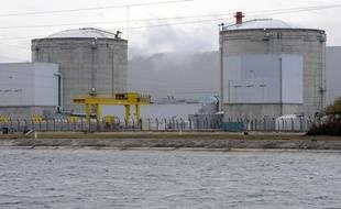 Centrale nucléaire de Fessenheim. Le 20 11 2008