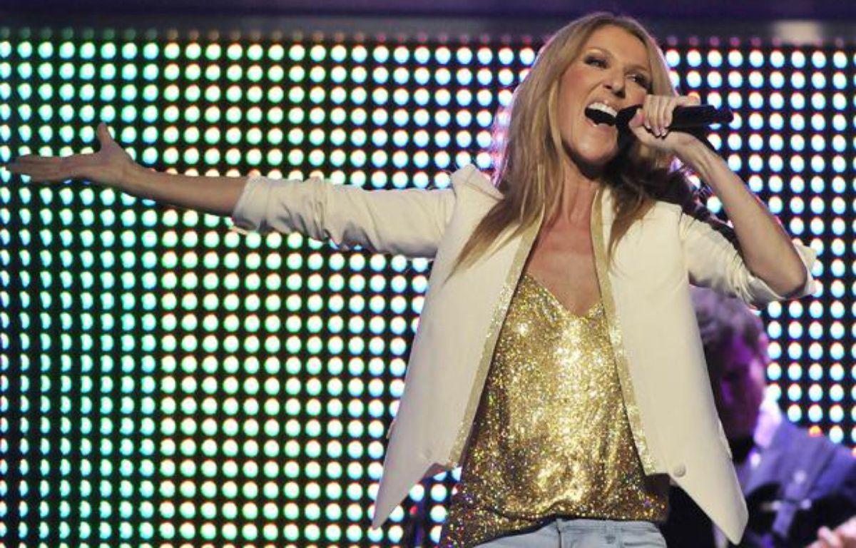 Céline Dion sur scène le 1er juin 2012 aux Etats-Unis. – April L Brown/AP/SIPA