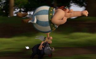 Image extraite du film Astérix et le Domaine des dieux.