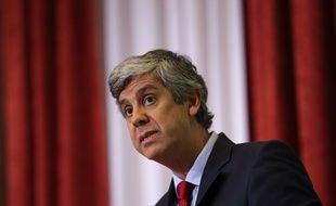 Le ministre portugais des finances  Mario Centeno le 5 février 2016.