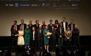 Délégation du cinéma français à Tokyo en juin 2013
