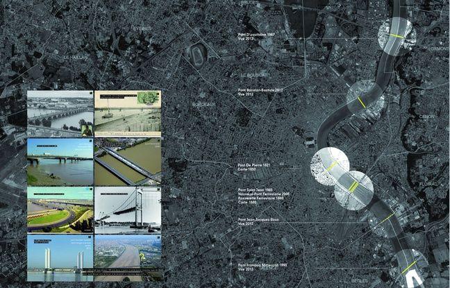 La situation du nouveau pont Jean-Jacques Bosc qui sera en service en 2020.