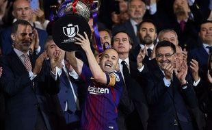 Andrés Iniesta et la Coupe du roi