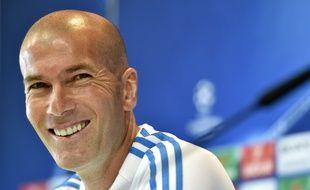 Zinedine Zidane, le 24 mai 2016, à Madrid