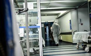 Dans un hôpital de Bordeaux, le 25 mars 2020 (image d'illustration).