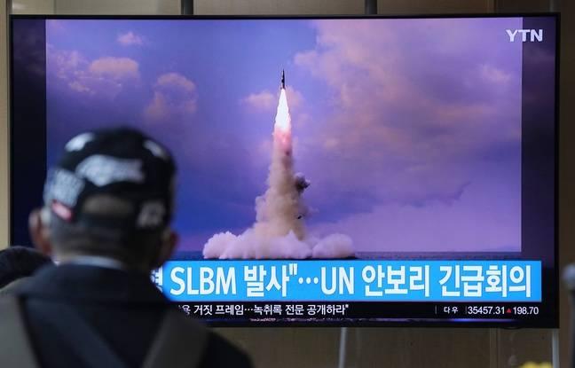 Regarder la vidéo Corée du Nord: Pyongyang affirme avoir lancé un missile balistique depuis un sous-marin