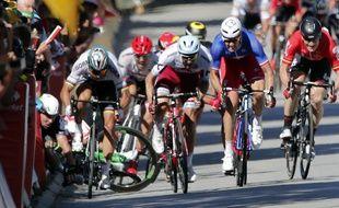 Peter Sagan avait été exclu du Tour de France après avoir provoqué la chute de Mark Cavendish lors du sprint de la 3e étape, le 4 juillet 2017.