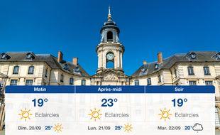 Météo Rennes: Prévisions du samedi 19 septembre 2020