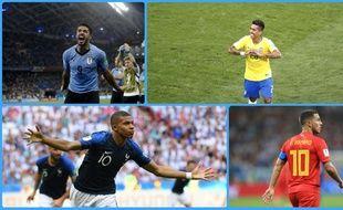 Coupe du monde 2018  Le Brésil en tête, la France sur le podium... Notre  «classement virtuel» du Mondial (étape 4) cb768ccdc4ac