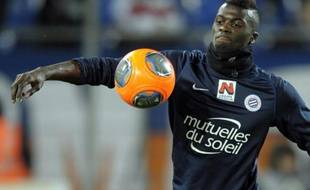 L'attaquant de Montpellier, M'Baye Niang.