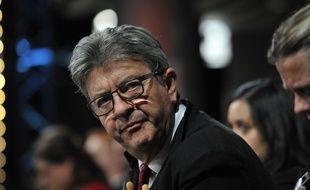 Jean-Luc Mélenchon lors d'un meeting de LFI le 24 mai 2019, à Lille.