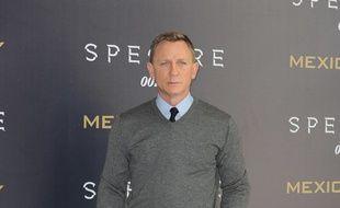 L'acteur Daniel Craig à l'avant-première de Spectre