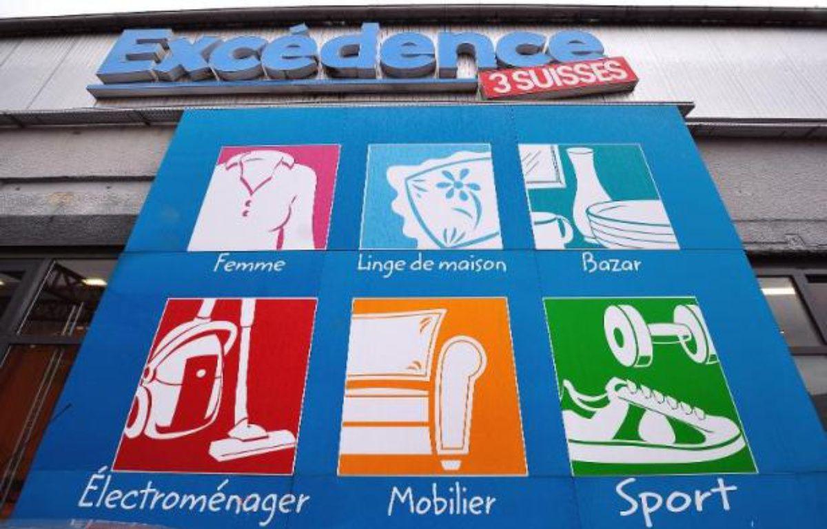 La vitrine dun magasin excédence 3 suisses à roubaix philippe huguen afp