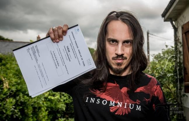Corentin Charbonnier a soutenu la première thèse sur le Hellfest.
