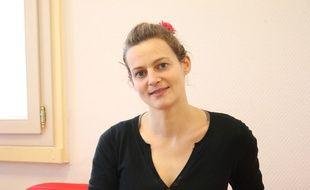 Marie Mérouze, patronne de la start-up Marbotic à Bègles