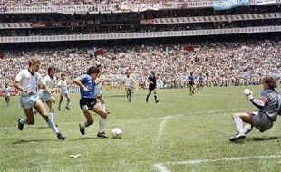 Diego Armando Maradona dans ses œuvres mexicaines.