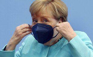 Angela Merkel, le 22 juillet 2021 à Berlin.