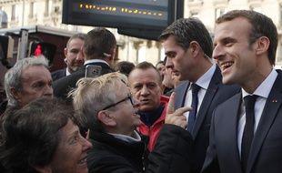 Emmanuel Macron face aux Français à Charleville-Mézières, le 7 novembre 2018.