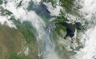 Une image capturée par un satellite de la NASA, le 9 juin 2015