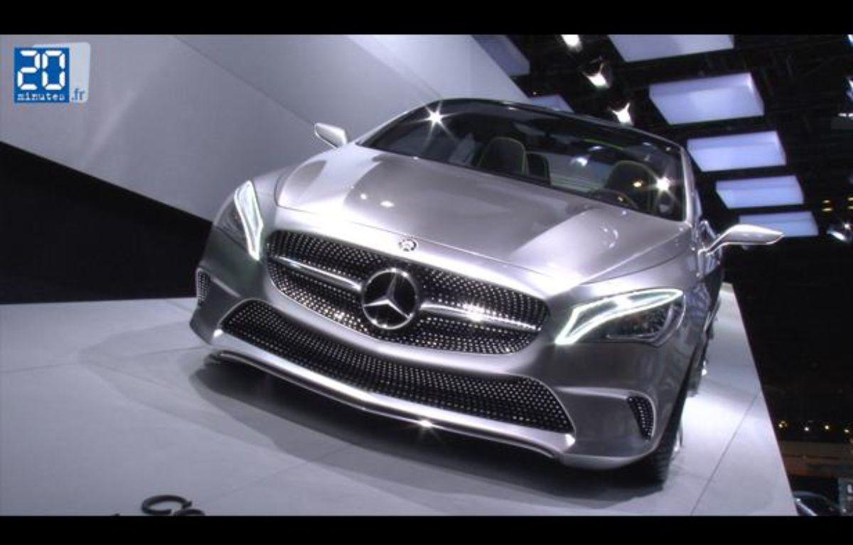 Mercedes Concept Style Coupé au Mondial de l'automobile 2012 de Paris – Jonathan Duron / 20 Minutes