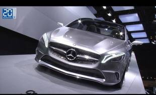Mercedes Concept Style Coupé au Mondial de l'automobile 2012 de Paris