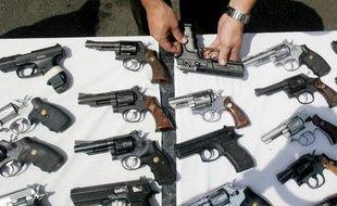 Des armes de poing
