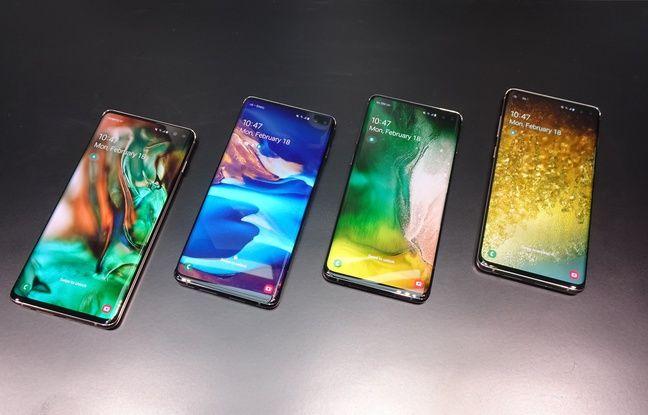 L'écran du Galaxy S10 occupe 93,1% de la surface avant du smartphone.