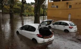 La commune de Roquebrune-sur-Argens a été particulièrement touchée par les inondations.
