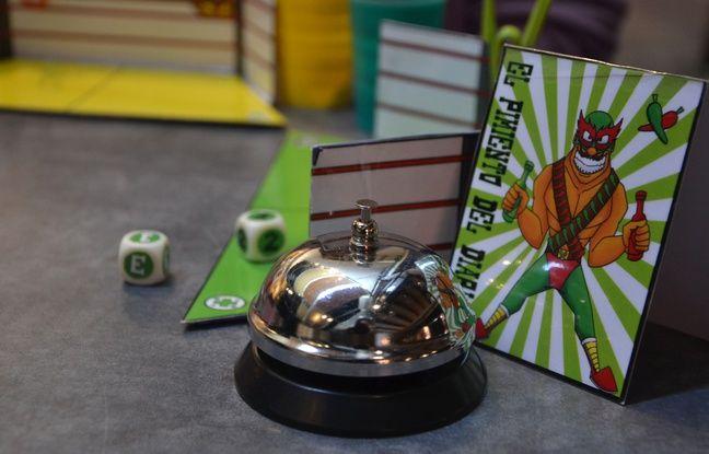 Montpellier: Dans le jeu «El chi chu mucho», on met K.-O. des catcheurs mexicains à coups de dés