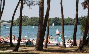 La plage du Lac a été agrandie pour la saison 2015.