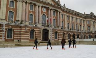 La patinoire de plein air du Capitole. Archives.