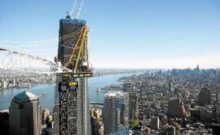 Une fois achevée, la tour WTC culminera à 541m de hauteur.