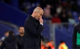 Zidane l'admet, il est temps que la saison se termine pour le Real Madrid.
