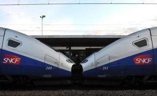 La grève d'une journée lancée par la CGT-Cheminots contre la réforme ferroviaire était suivie le 10 mars 2015 par moins de 10% des agents de la SNCF et le trafic était normal