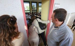 Strasbourg le 08 septembre 2014-Les parents ont pu visiter les classes.