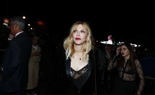 La chanteuse Courtney Love