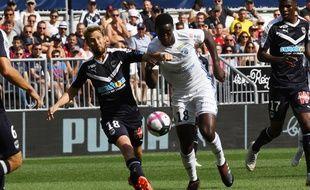Le jeune Ibrahima Sissoko a inscrit le premier strasbourgeois à Bordeaux.
