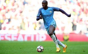 Yaya Touré, le milieu de Manchester City, va faire un don pour les victimes de l'attentat de Manchester le 22 mai 2017.