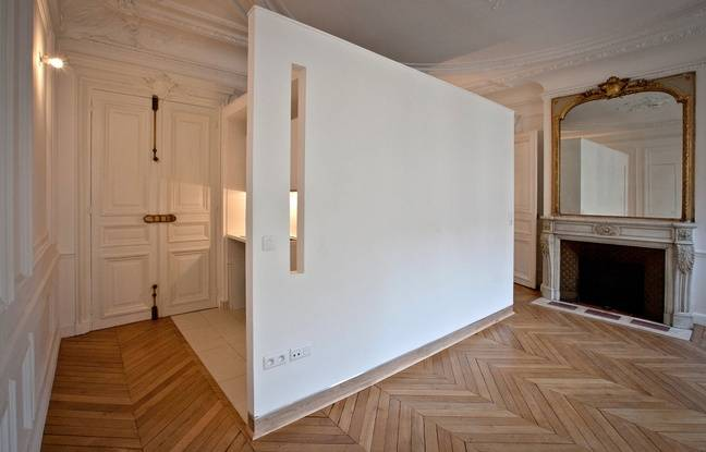 paris pourquoi les logements haussmanniens sont si faciles transformer. Black Bedroom Furniture Sets. Home Design Ideas