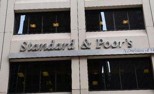 Le siège de l'agence de notation américaine Standard-Poor's à New York