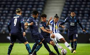 Les joueurs marseillais n'ont pas été au niveau contre Porto.