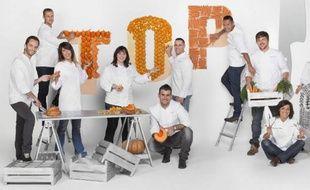 Une partie des candidats de la 4ème saison de Top Chef.