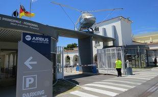 Le siège du groupe Airbus Helicopters à Marignane.