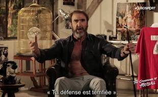 Eric Cantona reprend