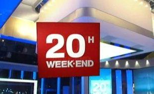 Générique du JTde France 2, les week-end.