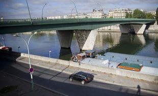 Un tronc humain a été retrouvé, ce vendredi, dans la Seine à hauteur du pont du Garigliano, à Paris. (Illustration)