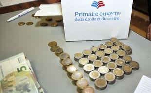 Le 20 novembre 2016, dans un bureau de vote de Bourgoin-Jallieu.