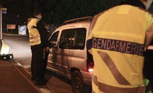 Opération de la Gendarmerie Nationale à Toulouse. Illustration.