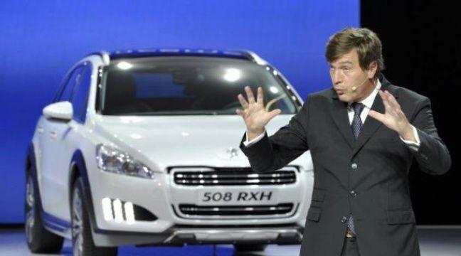 La marque peugeot se dote d 39 un nouveau directeur for Salon automobile allemagne