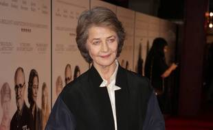 L'actrice Charlotte Rampling